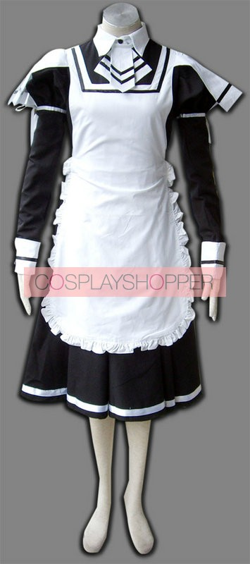 Deadly Weapon Cosplay Maid Costume