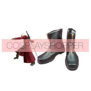 Devil May Cry Dante Faux Leather Cosplay Boots