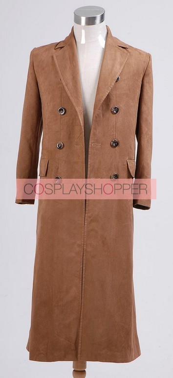 Doctor Who 10th Doctor Cosplay Coat