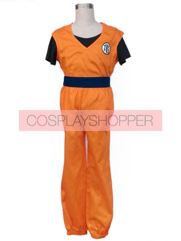 Dragon Ball Z Young Goku Cosplay Costume