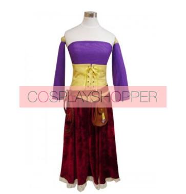 Dragon Quest Jessica Albert Cosplay Costume