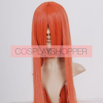 Drak Orange Long Straight Cosplay Wig