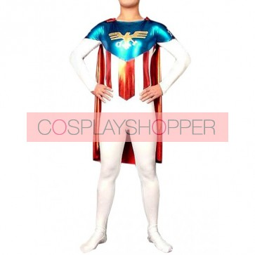 Eagle Warriors Lycra Spandex Superhero Zentai Suit