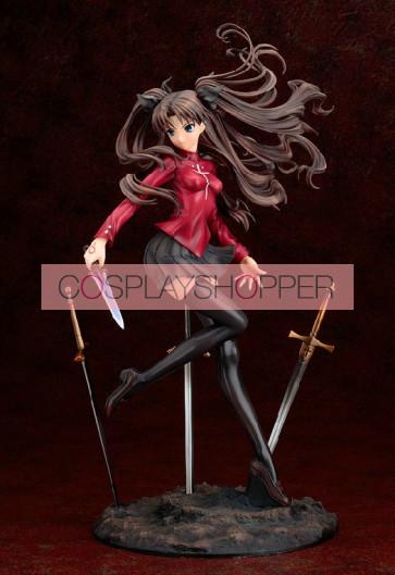Fate Stay Night Rin Tohsaka Mini PVC Action Figure