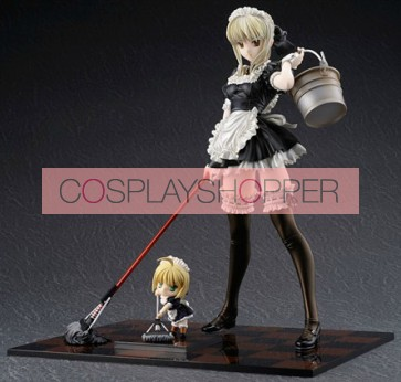 Fate Stay Night Saber Lily Mini PVC Action Figure - B
