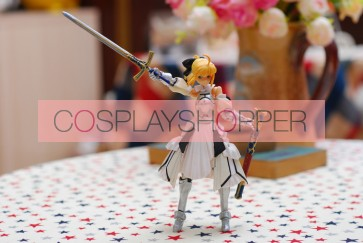 Fate Stay Night Saber Lily Mini PVC Action Figure - C