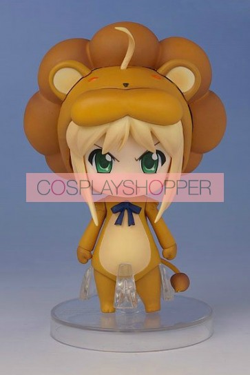 Fate Stay Night Saber Lion Mini PVC Action Figure