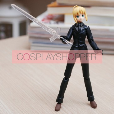 Fate Stay Night Saber Mini PVC Action Figure