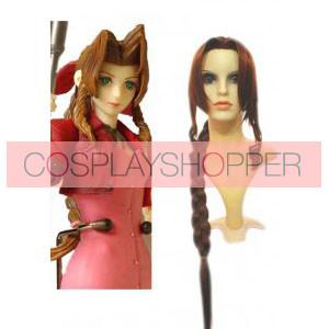 Final Fantasy Aerith Gainsborough Cosplay Wig