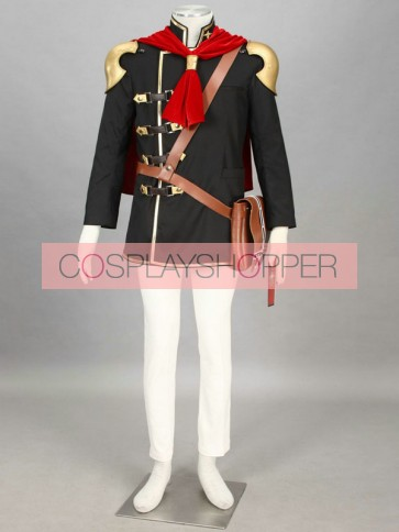 Final Fantasy Type-0 Suzaku Peristylium Class Zero Ace Cosplay Costume
