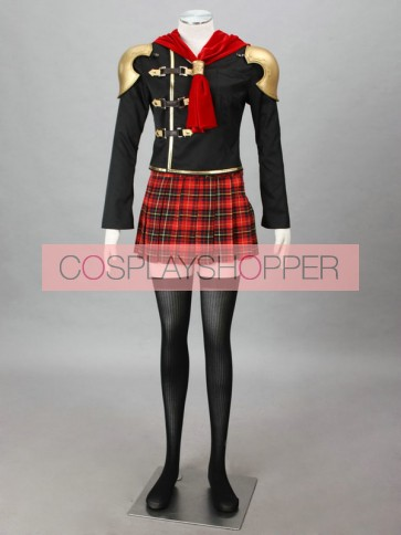 Final Fantasy Type-0 Suzaku Peristylium Class Zero Cinque Cosplay Costume