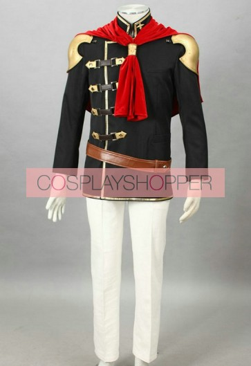 Final Fantasy Type-0 Suzaku Peristylium Class Zero Jack Cosplay Costume
