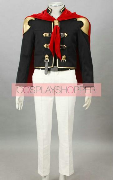Final Fantasy Type-0 Suzaku Peristylium Class Zero King Cosplay Costume