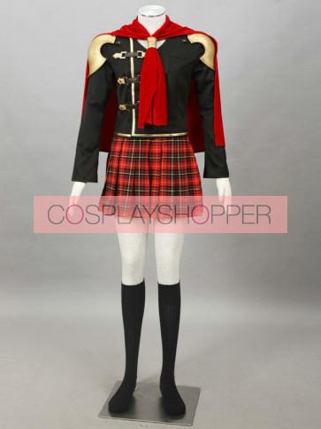Final Fantasy Type-0 Suzaku Peristylium Class Zero Queen Cosplay Costume