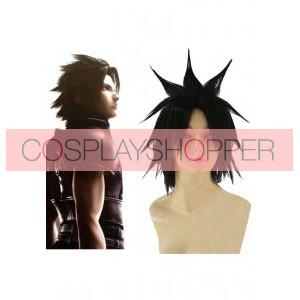 Black Final Fantasy VII 7 Zack Cosplay Wig