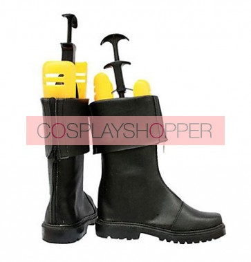 Final Fantasy VII Zack Faux Leather Cosplay Boots