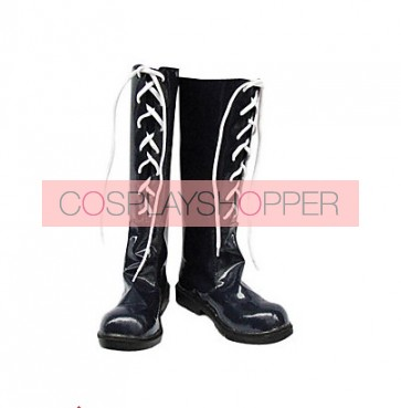 Final Fantasy X Yuna Imitation Leather Cosplay Boots