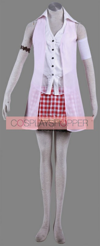 Final Fantasy XIII 13 Serah Farron Cosplay Costume