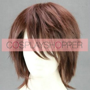 Brown 35cm Final Fantasy XIII Noel Kreiss Cosplay Wig
