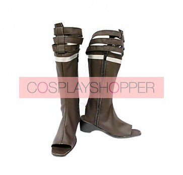 Final Fantasy XIII Oerba Yun Fang Cosplay Boots