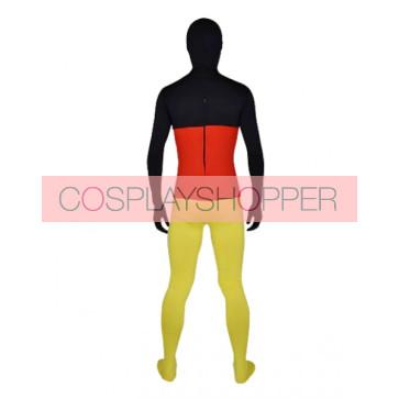 Flag of German Full Body Lycra Spandex Zentai Suit