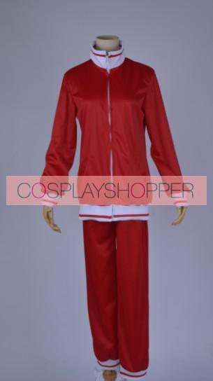 Free! Red Nagisa Hazuki Cosplay Costume