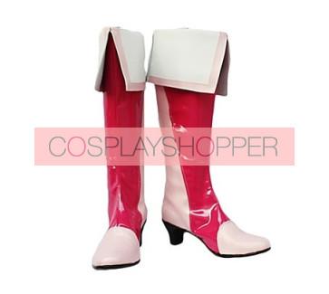 Fresh Precure Cure Peach Momozono Love Cosplay Boots