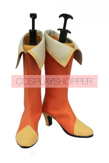 Fresh Precure Cure Pine Yamabuki Inori Cosplay Boots