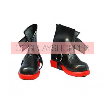 Fullmetal Alchemist Edward Elric Imitation Leather Cosplay Shoes