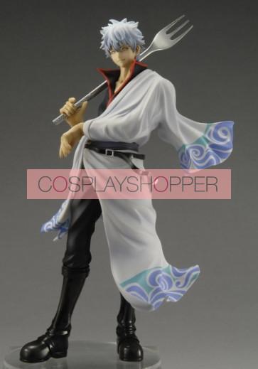 Gintama Gintoki Sakata Mini PVC Action Figure - A