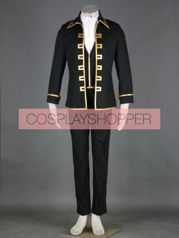 Gintama Okita Sougo Cosplay Costume