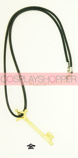 Gold Attack On Titan Eren Cosplay Necklace