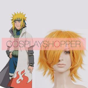 Golden 32cm Naruto Minato Namikaze Cospaly Wig
