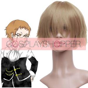 Golden 32cm Pandora Hearts Reim Lunettes Cosplay Wig