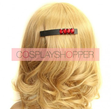 Gothic Concise Black Lady Handmade Lolita Hairpin