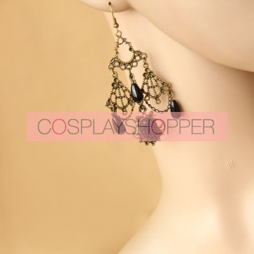 Gothic Victorian Style Lady Lolita Earrings