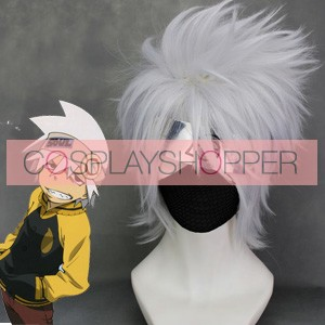 Gray 35cm Soul Eater Soul Cosplay Wig