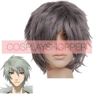 Gray 35cm Togainu no Chi Akira Cosplay Wig