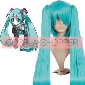 Green 120cm Vocaloid Hatsune Miku Nylon Cosplay Wig