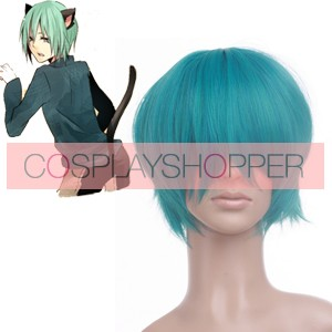 Green 30cm Katekyo Hitman Reborn! Fran Nylon Cosplay Wig
