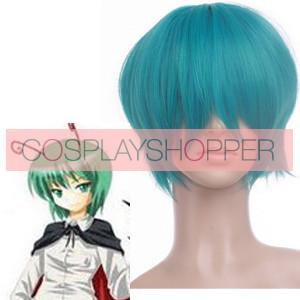 Green 30cm Tonhou Project Wriggle Nightbug Nylon Cosplay Wig