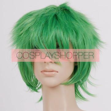 Green Cosplay Wig