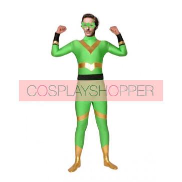 Green Lycra Spandex Superhero Zentai Suit