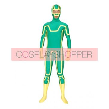 Green Lycra Spandex Unisex Superhero Zentai Suit
