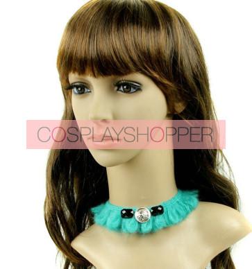 Green Woolen Lolita Necklace