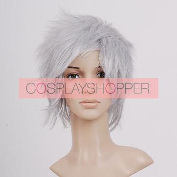 Grey Cloud Strife Cosplay Wig