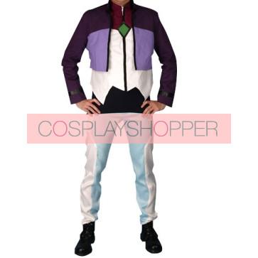 Gundam 00 Destiny Tieria Erde Cosplay Costume