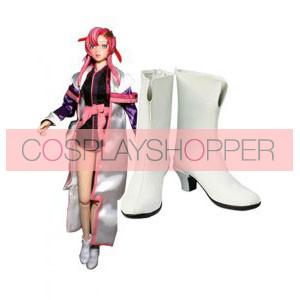 Gundam Seed Lacus Clyne Imitation Leather Cosplay Boots