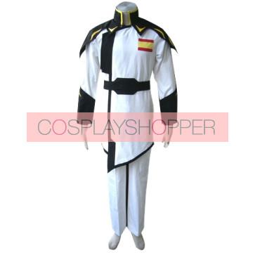 Gundam Seed Z.A.F.T Cosplay Costume