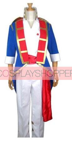 Gurren Lagann Older Simon Cosplay Costume